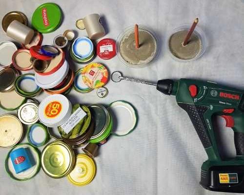 Upcycling kerzenständer u creolla
