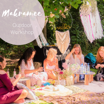 makramee workshop im park