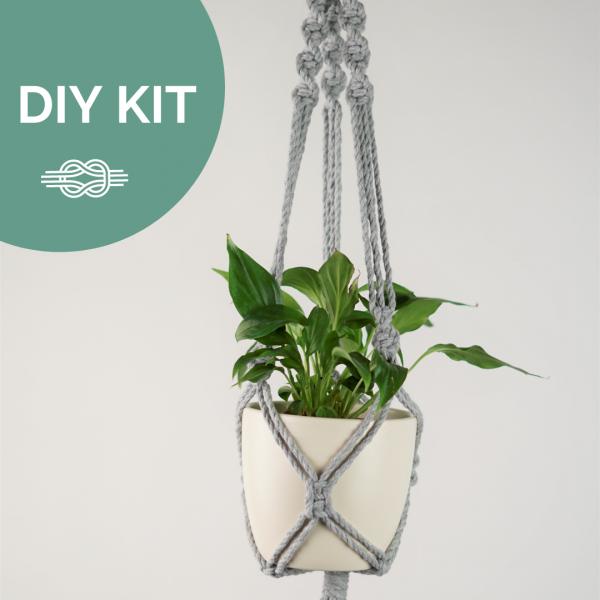 DIY Kit Blumenampel selber machen