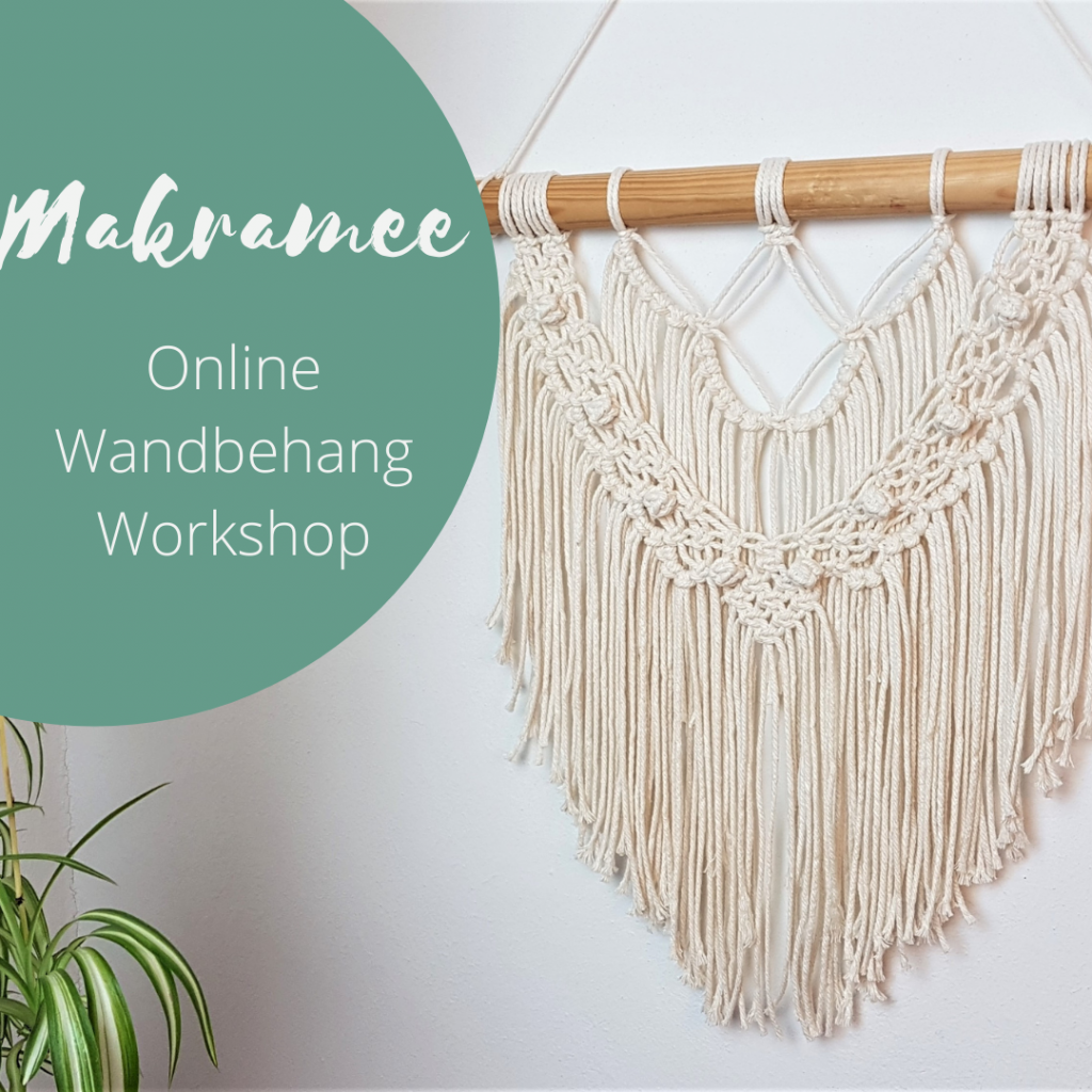 makramee wandbehang online workshop