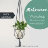 online workshop makramee blumenampel
